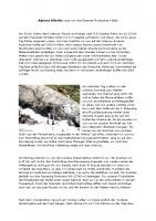 Alpines Allerlei rund um die ERH