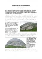 Alpines Klettern im Lechquellengebirge