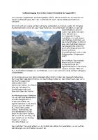 Aufbaulehrgang Fels in den Lienzer Dolomiten
