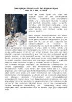 Bericht Allgaeutour 2009