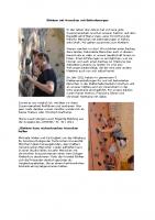 Klettern mit Menschen mit Behinderungen