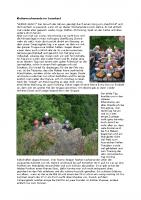 Kletterwochenende im Sauerland