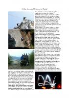 Mit den Gronauer Kletterern ins Blautal