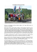 Radtour Saar Mosel