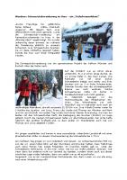 Schneeschuhwanderung im Harz
