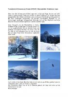 Skitourenkurs Oberlandhuette