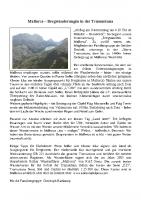Tourenbericht Mallorca