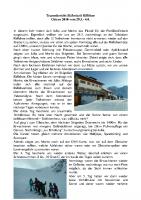 Tourenbericht Riffelsee Skifreizeit Ostern