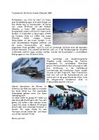Tourenbericht Skifreizeit Stubaier Gletscher