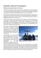 Tourenbericht Skitourenkurs Einsteiger Weidener Huette