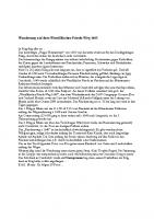 Wanderung auf dem Westfaelischer-Friede-Weg 1648