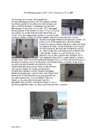 Winterbesteigung des LAGA Turms in Gronau