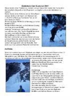 Tourenbericht-Eisklettern