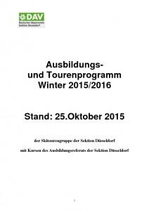 thumbnail of Tourenprogramm Winter 2016 Neu