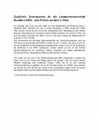 Geglückte Generalprobe für die Landesmeisterschaft Bouldern NRW
